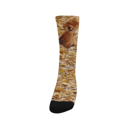 Dog Cocker Spaniel Trouser Socks