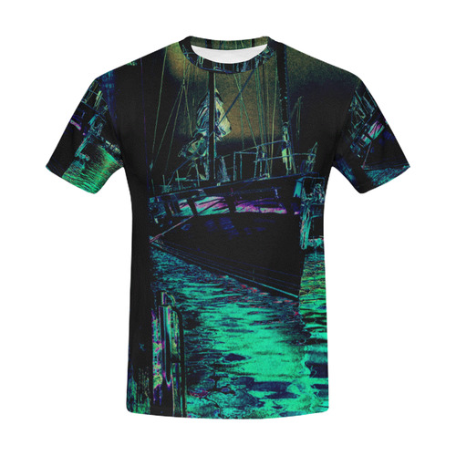 SHIPMOO 2 All Over Print T-Shirt for Men (USA Size) (Model T40)