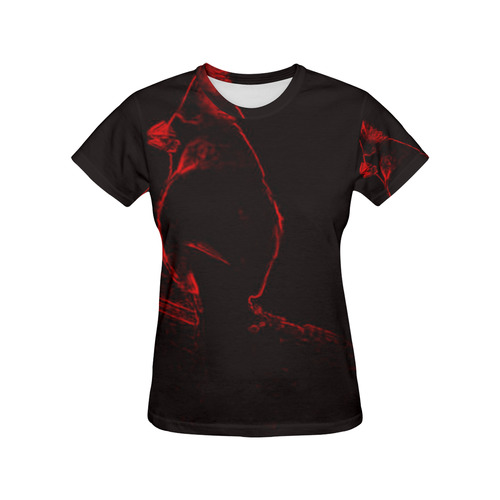 MOOCAR All Over Print T-Shirt for Women (USA Size) (Model T40)