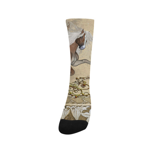 Wonderful wild horse Trouser Socks