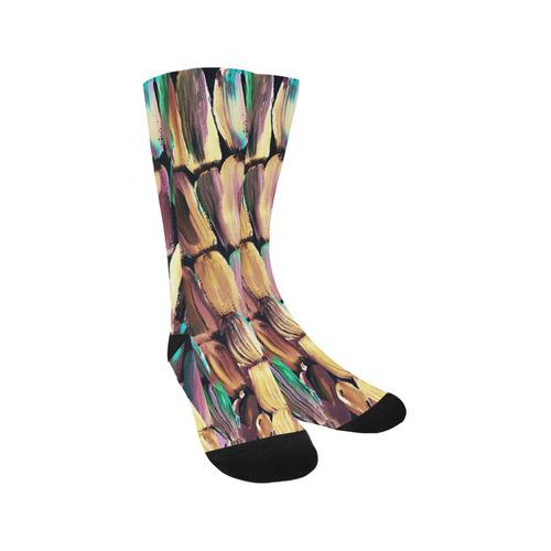 Gold Trouser Socks