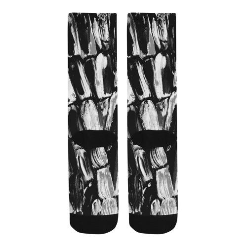 Black and White Trouser Socks