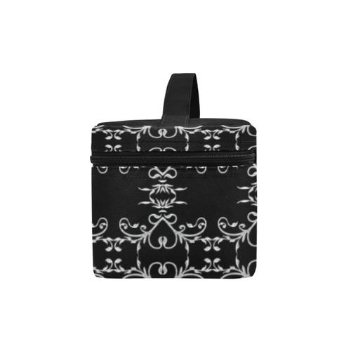 Heart Vine Damask Goth Lunch Bag/Large (Model 1658)