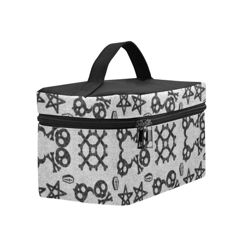 Skullie Stars Gothic Print Lunch Bag/Large (Model 1658)