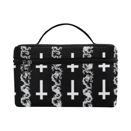 Lucifer's Thorns Occult Goth Print Lunch Bag/Large (Model 1658)