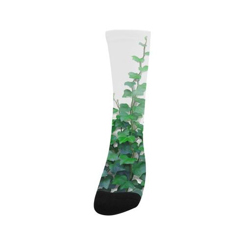 Watercolor Ivy - Vines, plant watercolor Trouser Socks