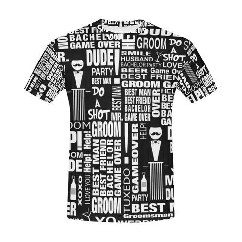 GROOM Gift T Shirt Wedding Shirt Best Man Gift by Juleez All Over Print T-Shirt for Men (USA Size) (Model T40)