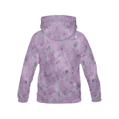 trendy abstract mix A by FeelGood All Over Print Hoodie for Men (USA Size) (Model H13)