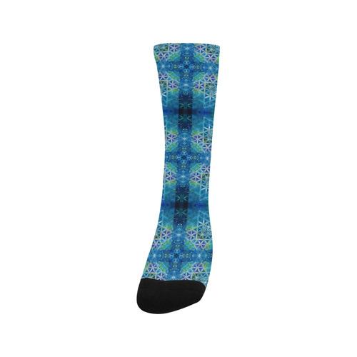 Celestial Flower Of Life Quilt Trouser Socks