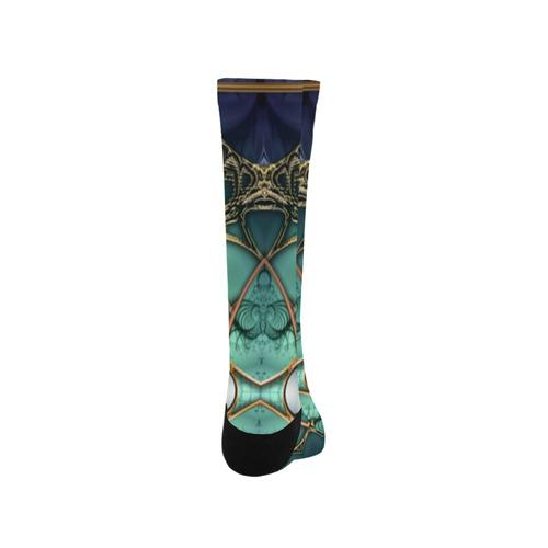 Majestic Topaz Ocean Kaleidoscope Trouser Socks