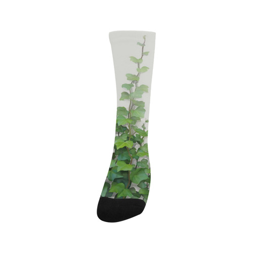 Watercolor Vines, climbing plant watercolor Trouser Socks