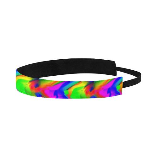 Neon Abstract Sports Headband