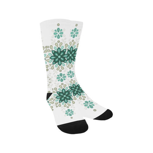 Green with atmosphere Trouser Socks