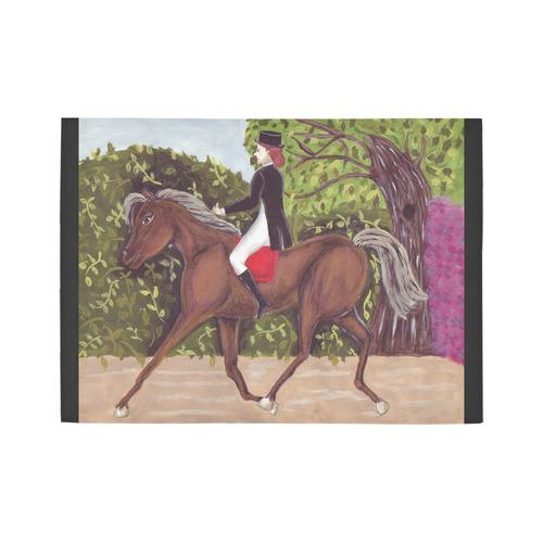 Dressage Horse English Style Riding rug Area Rug7'x5'