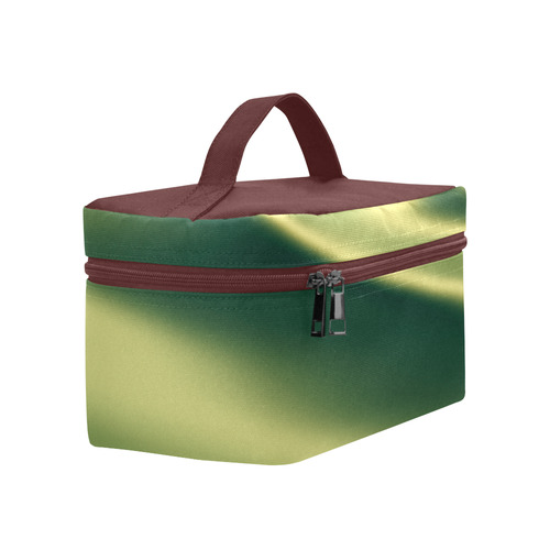 Golden green abstract colors Lunch Bag/Large (Model 1658)