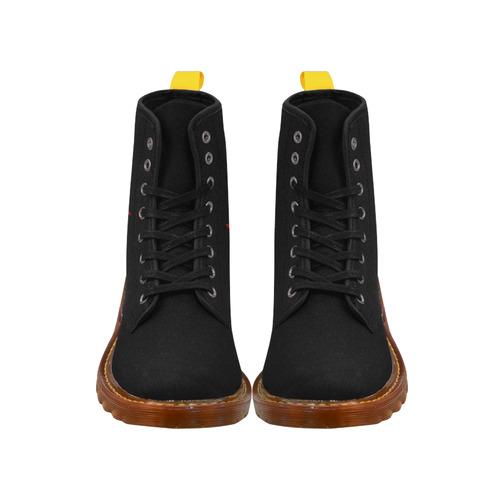 Cool Canada Boots Men's Black Canada Boots Martin Boots For Men Model 1203H