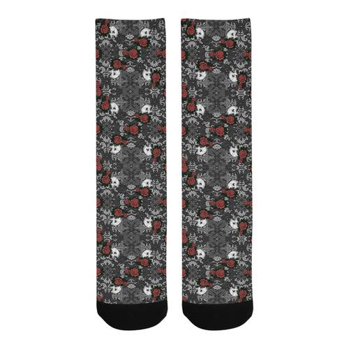 Eternal Faith Gothic pattern Trouser Socks