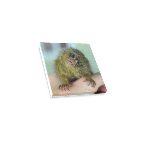 "Baby Ninita Small Canvas Canvas Print 4""x4"""