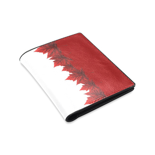 Canada Souvenir Wallets Leather Canada Wallets Men's Leather Wallet (Model 1612)