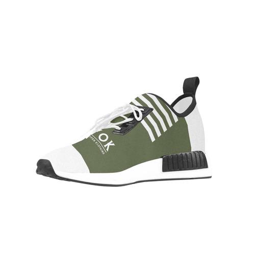EWOK Street Green Men's Draco Running Shoes (Model 025)