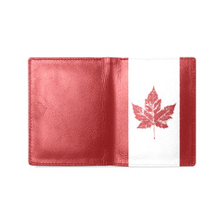 69e4cecec0c Canada Wallets Leather Canada Souvenir Wallets Men's Leather Wallet (Model  1612)