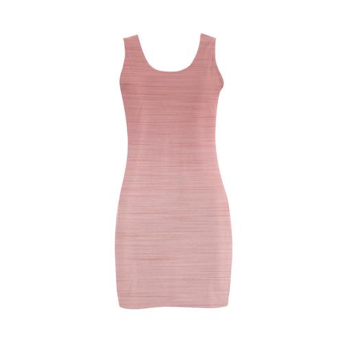 Rose Gold Medea Vest Dress (Model D06)