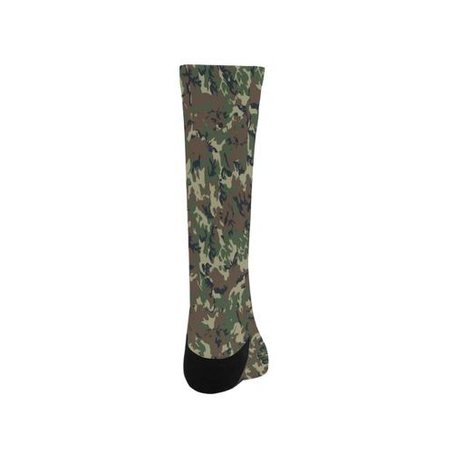 Forest Camouflage Pattern Trouser Socks