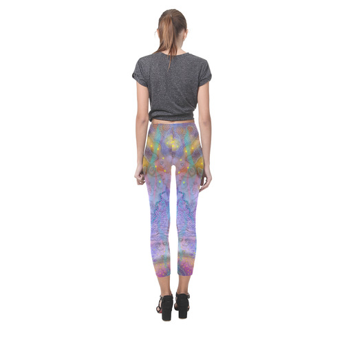 Listening to Brian Eno Music. Painted on the Magic Island of Gotland. Capri Legging (Model L02)