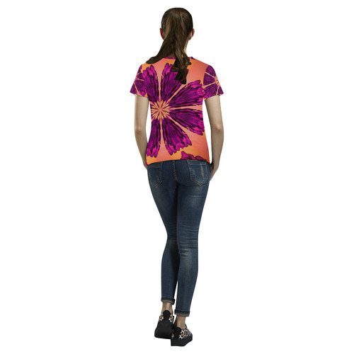 PASTEL PONZ All Over Print T-Shirt for Women (USA Size) (Model T40)