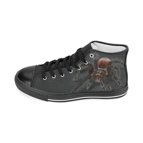 Tarantel Spider Painting Men's Classic High Top Canvas Shoes (Model 017)