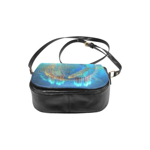 Atllantis bag-Annabellerockz Classic Saddle Bag/Large (Model 1648)