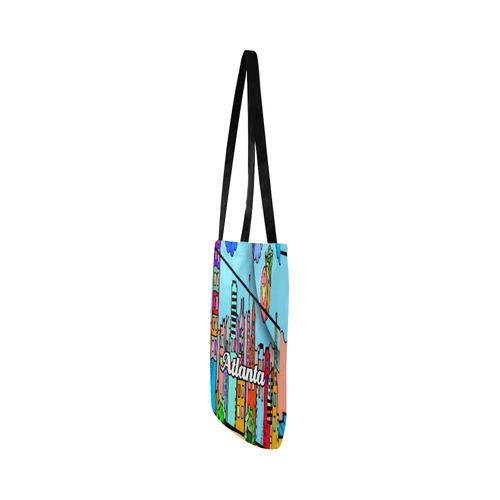 Atlanta by Nico Bielow Reusable Shopping Bag Model 1660 (Two sides)