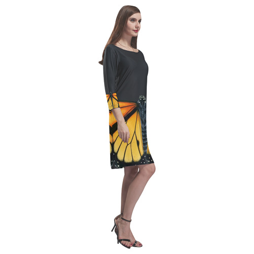 Monarch Tunic Rhea Loose Round Neck Dress(Model D22)