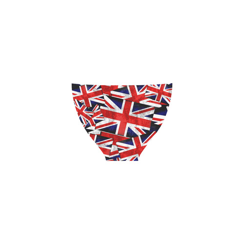 Union Jack British UK Flag Custom Bikini Swimsuit (Model S01)
