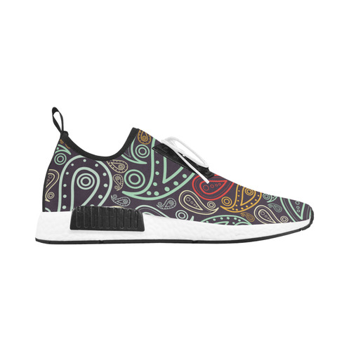 colorful paisley Men's Draco Running Shoes (Model 025)