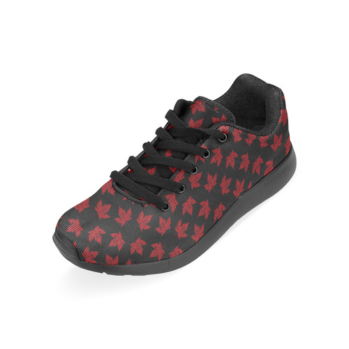 Cool Canada  Running Shoes Black Men's Running Shoes (Model 020)