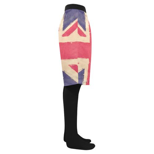 c6933b8c2e ... British UNION JACK flag grunge style Men's Swim Trunk (Model ...