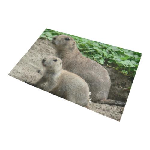prairie dogs 04 Bath Rug 20''x 32''