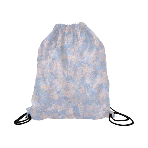 "Rose Quartz and Serenity blue 4644 Large Drawstring Bag Model 1604 (Twin Sides)  16.5""(W) * 19.3""(H)"