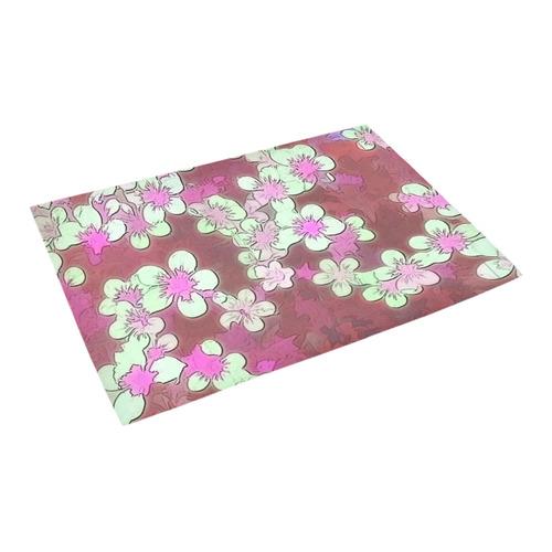 "lovely floral 29 B by FeelGood Azalea Doormat 24"" x 16"""