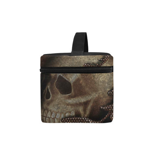 The crow with skulls Lunch Bag/Large (Model 1658)
