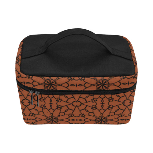 Potter's Clay Lace Cosmetic Bag/Large (Model 1658)