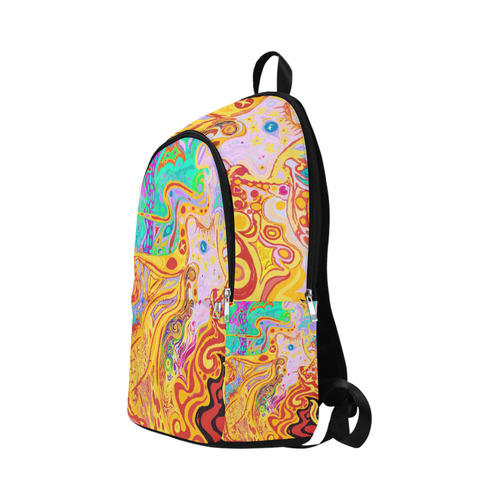 Hair of the Divine Universe Art Fabric Backpack for Adult (Model 1659)