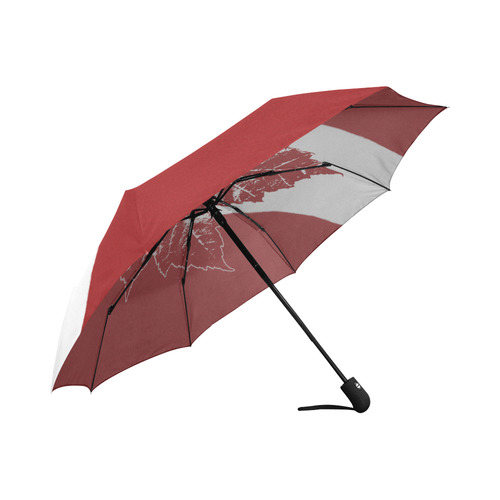 Cool Canada Umbrella Canada Flag Souvenirs Auto-Foldable Umbrella