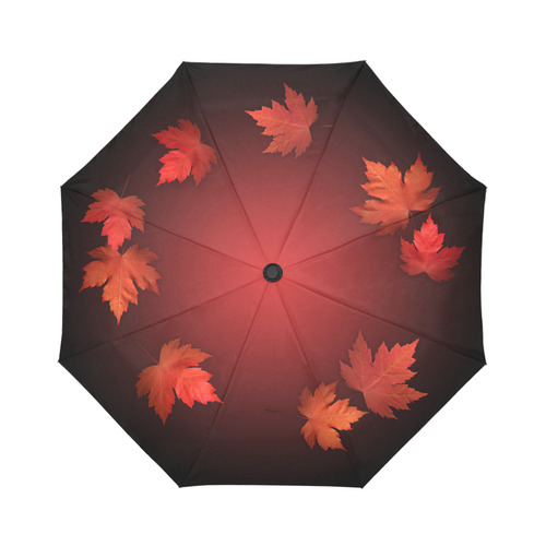 Autumn Leaves Umbrellas Canada Maple Leaf Gifts Auto-Foldable Umbrella