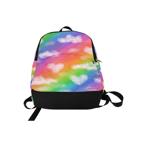 Rainbow Love. Inspired by the Magic Island of Gotland. Fabric Backpack for Adult (Model 1659)
