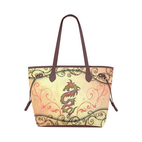 Dragon Canvas Tote Bag