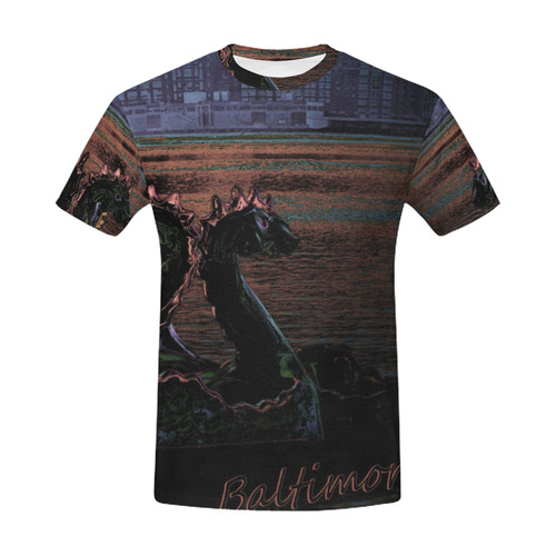 BMO All Over Print T-Shirt for Men (USA Size) (Model T40)