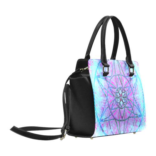 protection through an indigo wave Classic Shoulder Handbag (Model 1653)