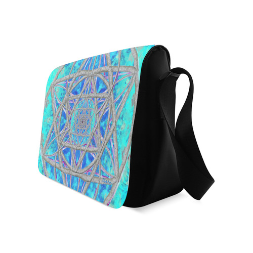 protection in blue harmony Messenger Bag (Model 1628)